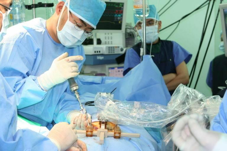 Удаление камней в желчном пузыре (холецистэктомия) в Южной Корее