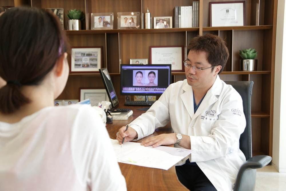 Foto 441 - Лечение искривления носовой перегородки (ринопластика, септопластика) в Южной Корее