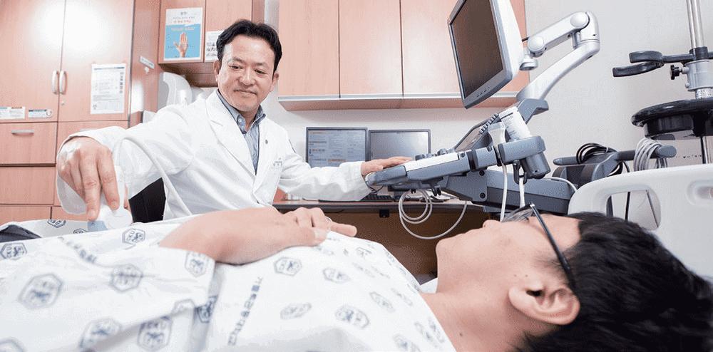 ISH Staff02 - Лечение кисты надпочечника в Южной Корее