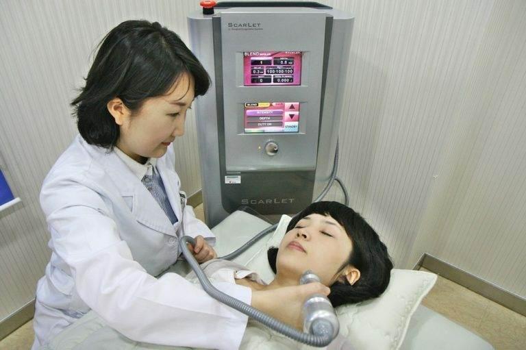 Фейслифтинг (подтяжка лица) в Южной Корее