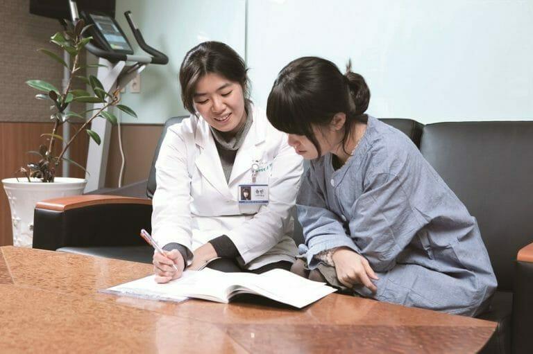 Брахитерапия при раке шейки матки в Корее
