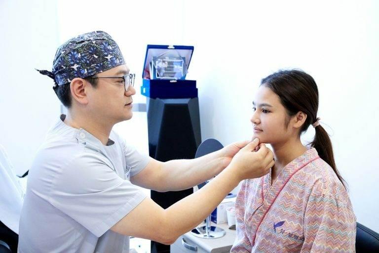 Фотографии пациентов до и после блефаропластики в Корее